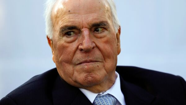 Helmut Kohl, excanciller federal alemán (archivo) - Sputnik Mundo