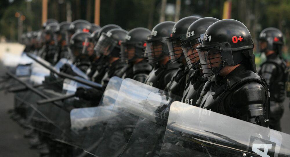 Escuadrón Móvil Antidisturbios (Esmad)