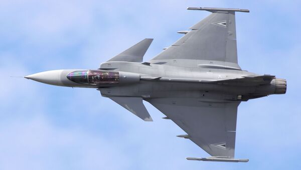 El caza sueco Gripen - Sputnik Mundo