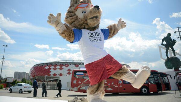 Zabivaka, la mascota oficial del Mundial 2018 - Sputnik Mundo