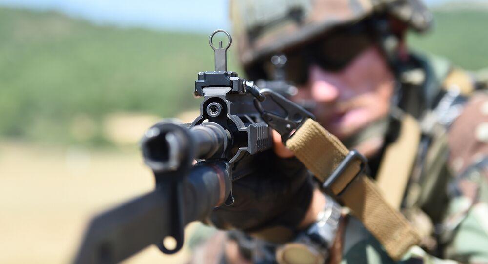 Un soldado francés (imagen referencial)