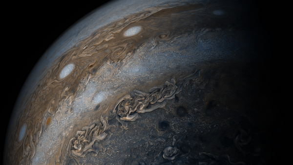 Júpiter y su 'collar de perlas' - Sputnik Mundo