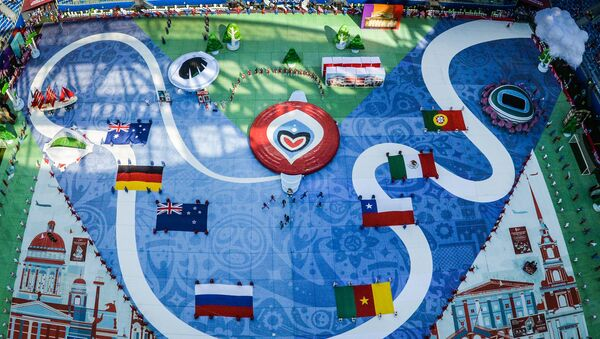 Ceremonia de apertura de la Copa Confederaciones 2017 - Sputnik Mundo