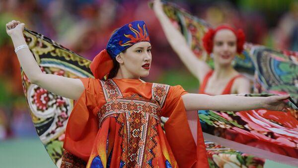 Artistas se presentan en la ceremonia de apertura de la Copa Confederaciones - Sputnik Mundo