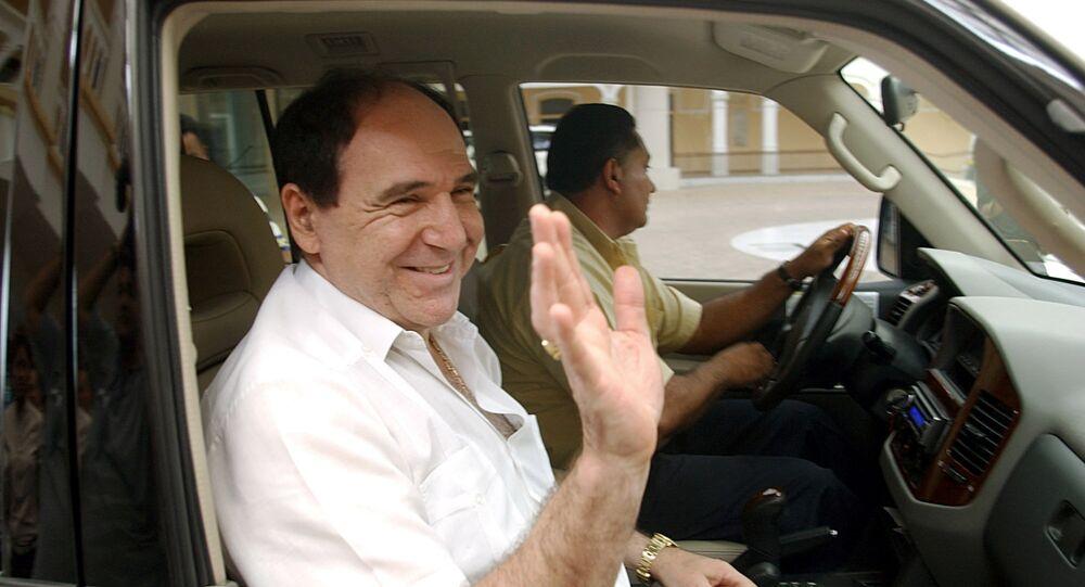 Abdalá Bucaram, expresidente de Ecuador