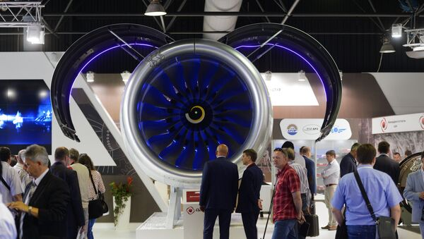 Международный авиационный - космический салон МАКС 2015. День второй - Sputnik Mundo
