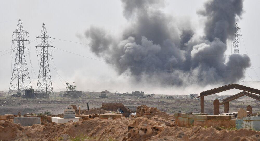 Los ataques contra las posiciones de Daesh cerca de la ciudad siria de Deir Ezzor