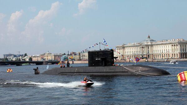 Un submarino del proyecto Lada en San Petersburgo - Sputnik Mundo