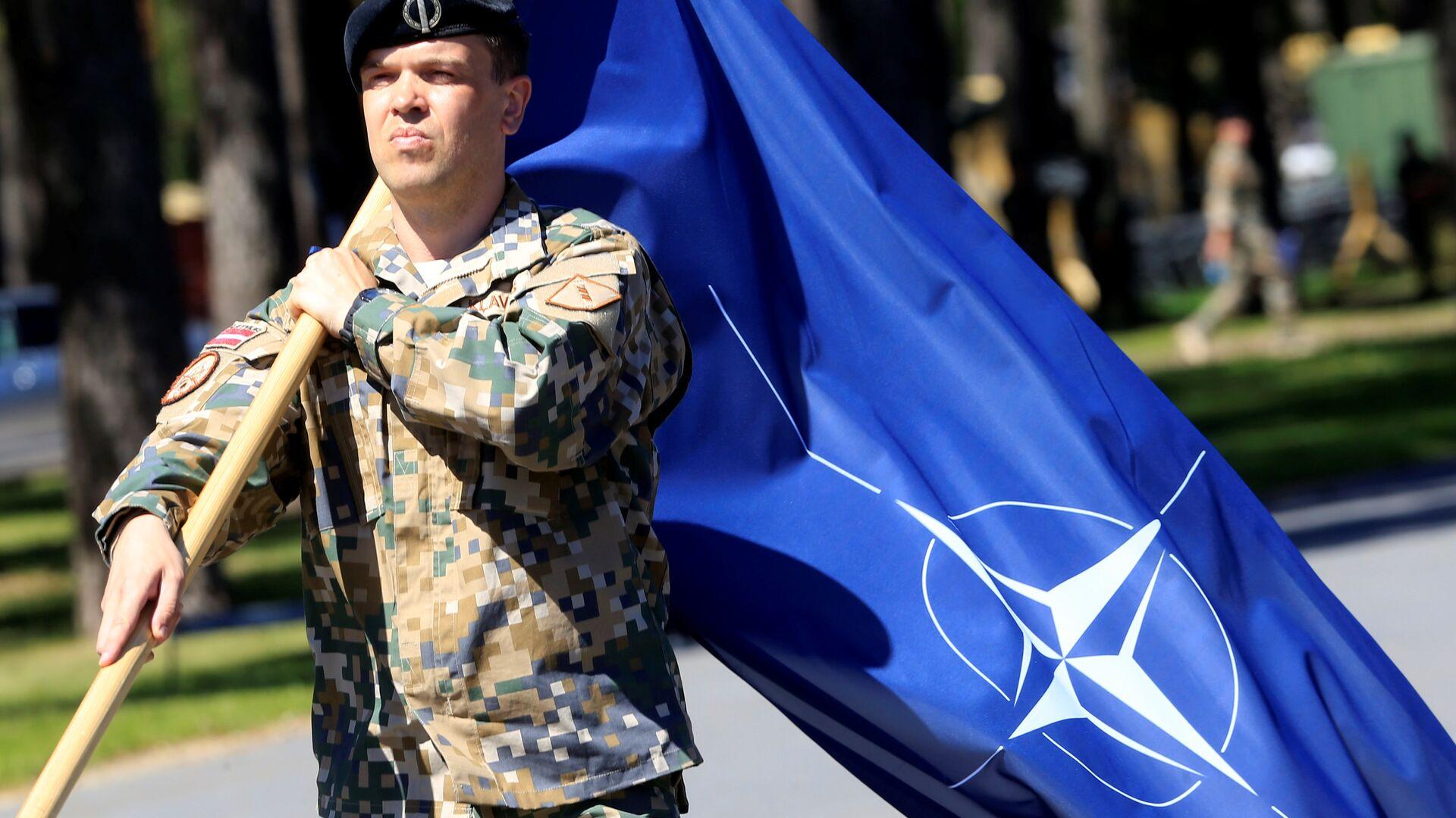 Bandera de la OTAN - Sputnik Mundo, 1920, 22.04.2021