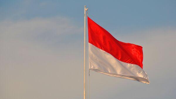 Bandera de Indonesia (archivo) - Sputnik Mundo