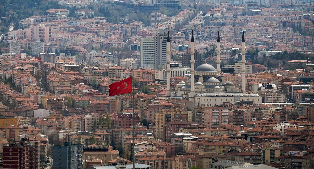 Ankara, la capital de Turquía