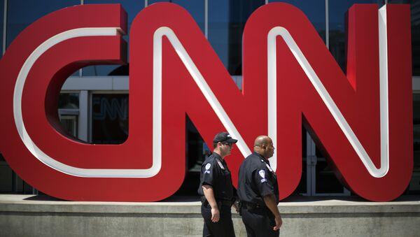 La sede del canal CNN en Atlanta, EEUU (archivo) - Sputnik Mundo