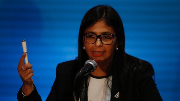 Delcy Rodríguez, vicepresidenta de Venezuela (archivo) - Sputnik Mundo