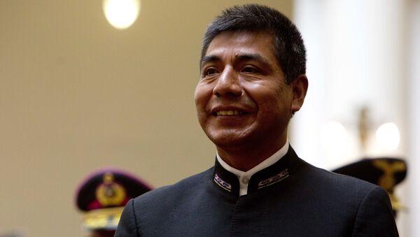 Fernando Huanacuni, canciller boliviano - Sputnik Mundo