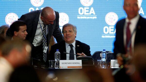 La 29 Reunión de Consulta de ministros de Relaciones Exteriores de la OEA - Sputnik Mundo
