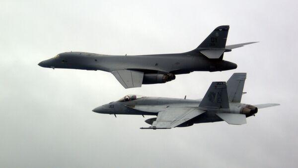 Los bombarderos B-1B Lancer - Sputnik Mundo