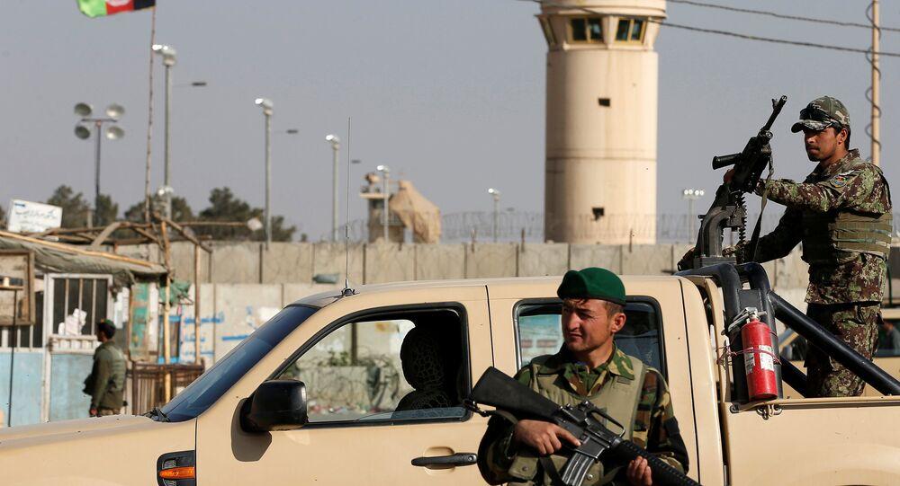 Militares afganos (archivo)