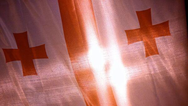 Bandera de Georgia - Sputnik Mundo