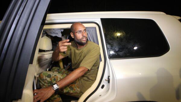 Saif Islam Gadafi, hijo del exlíder libio Muamar Gadafi (archivo) - Sputnik Mundo