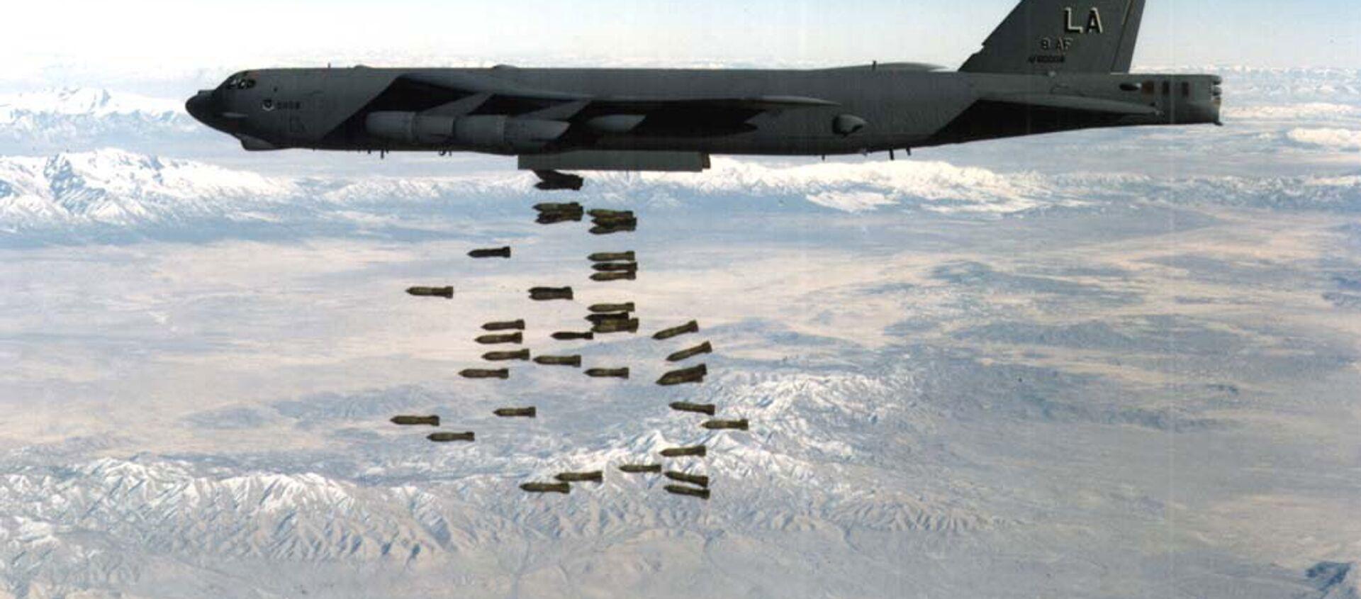 El B-52, utilizado en los bombardeos de Yugoslavia - Sputnik Mundo, 1920, 25.03.2018
