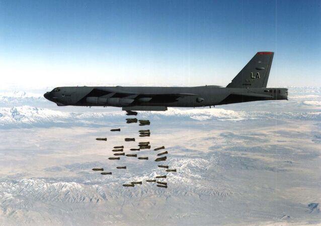 El B-52, utilizado en los bombardeos en Corea del Norte