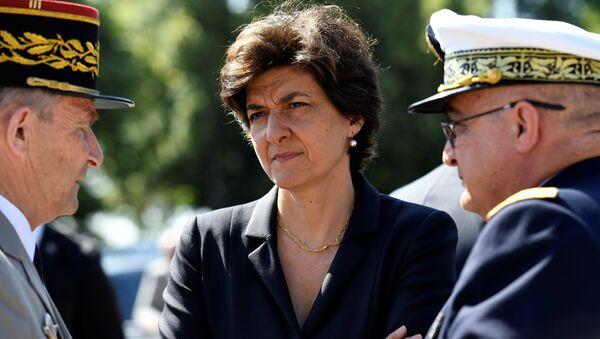 Sylvie Goulard, exministra de Defensa de Francia - Sputnik Mundo
