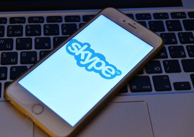 La aplicación móvil de Skype