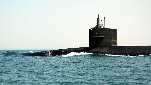 Un submarino nuclear estadounidense (archivo) - Sputnik Mundo