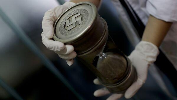 Artefactos con simbología nazi encontrados en Argentina en junio de 2017 - Sputnik Mundo