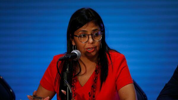 Venezuelan Foreign Minister Delcy Rodriguez - Sputnik Mundo