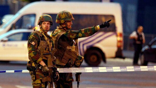 La Policía belga - Sputnik Mundo