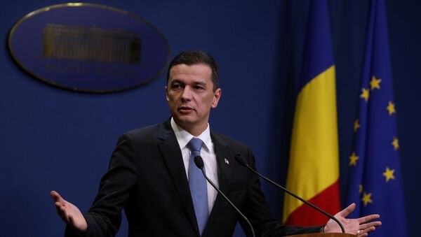 Sorin Grindeanu, primer ministro rumano (archivo) - Sputnik Mundo