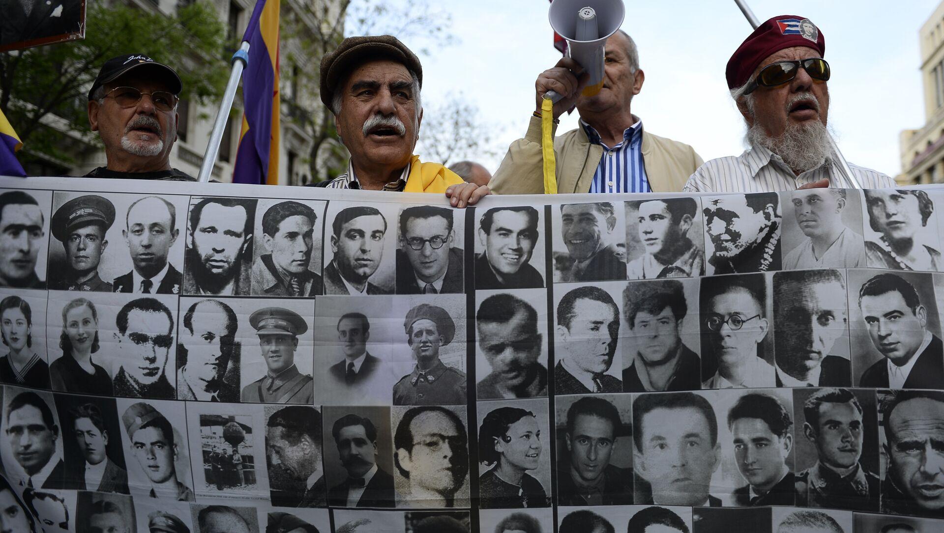 Los retratos de las víctimas del franquismo (archivo) - Sputnik Mundo, 1920, 16.09.2020