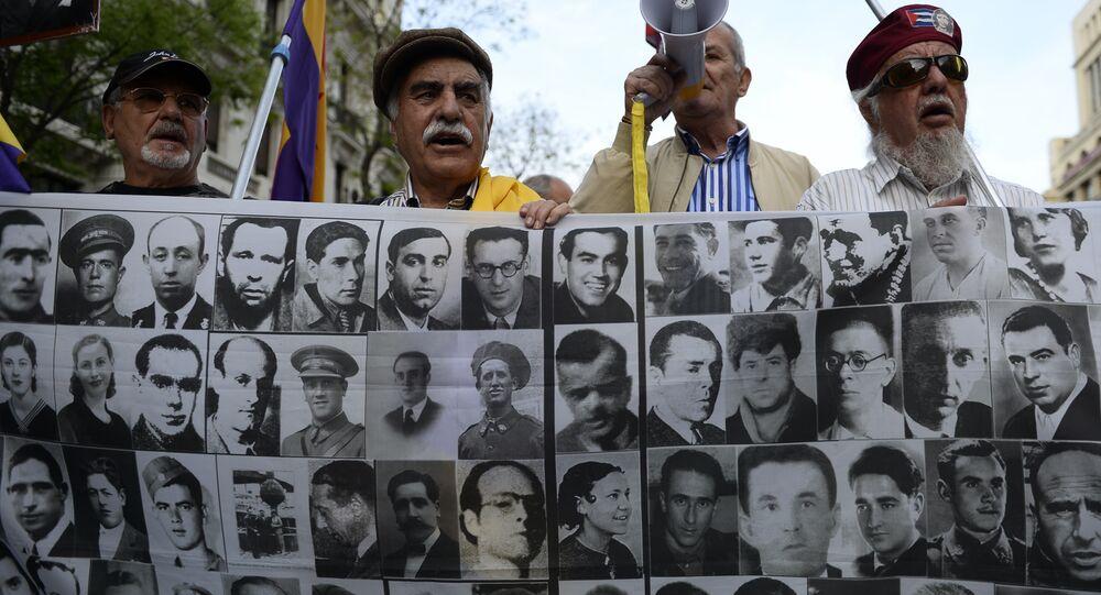 Los retratos de las víctimas del franquismo (archivo)