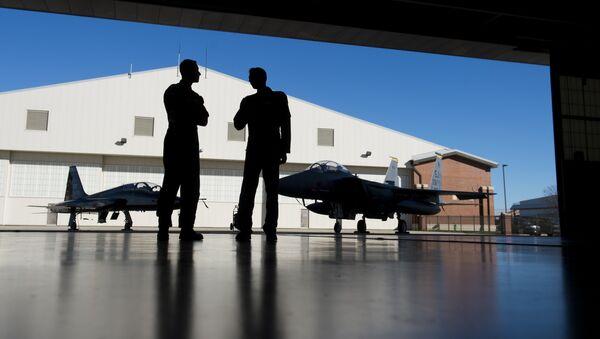 Los pilotos militares estadounidenses (archivo) - Sputnik Mundo