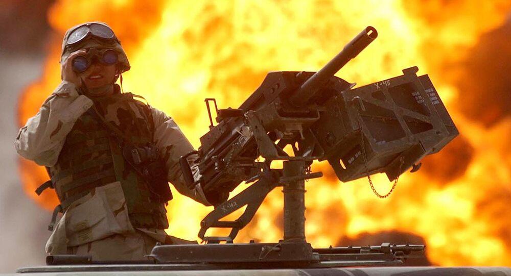 Un soldado de EEUU