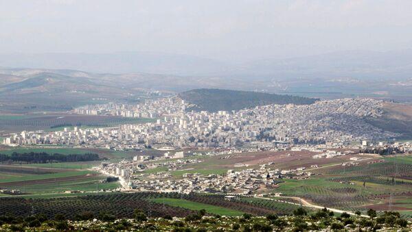 Ciudad kurda de Afrin - Sputnik Mundo