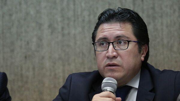 Carlos Poveda, el abogado privado de Assange en Ecuador - Sputnik Mundo