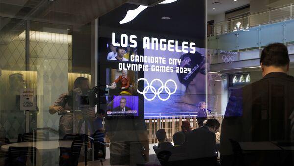 Presentación de Los Ángeles como sede de los Juegos Olímpicos 2024 - Sputnik Mundo