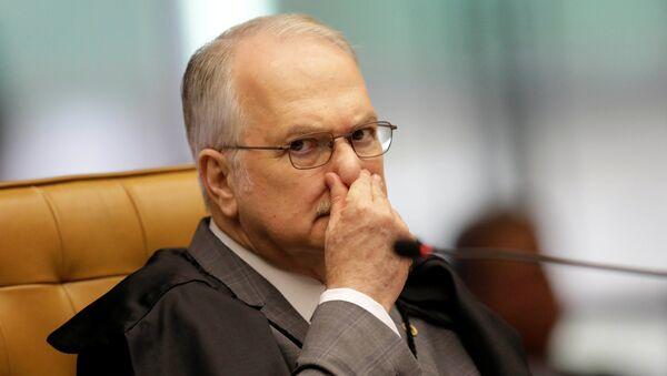 Edson Fachin, magistrado brasileño del Tribunal Supremo Federal - Sputnik Mundo