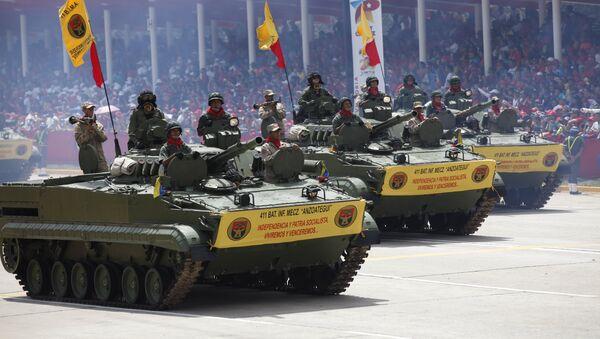 Ejército Nacional Bolivariano - Sputnik Mundo
