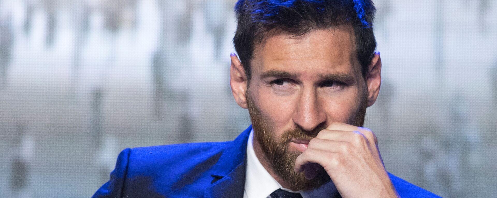 Lionel Messi, futbolista argentino - Sputnik Mundo, 1920, 09.08.2021