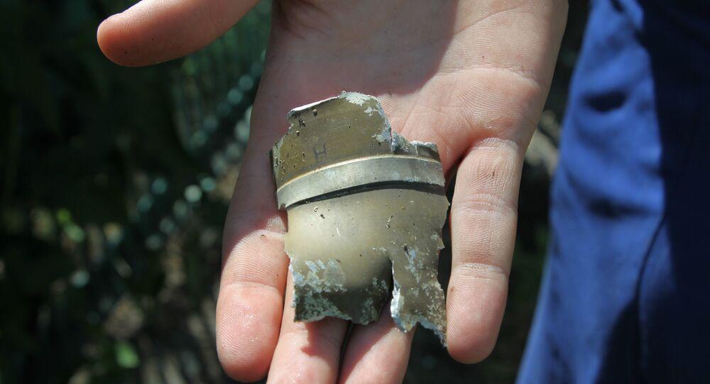 Un fragmento de proyectil (imagen referencial)