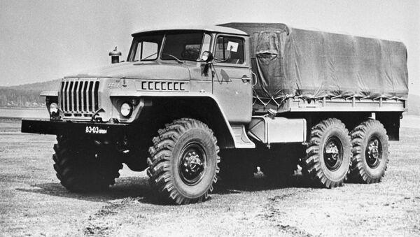 Ural 4320, camión soviético (imagen referencial) - Sputnik Mundo