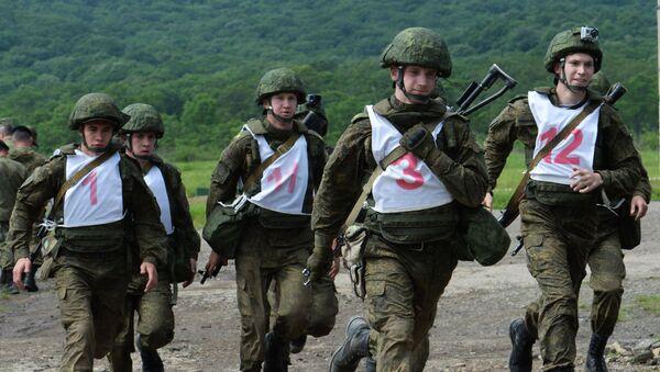 Competiciones de la Infantería Naval de Rusia - Sputnik Mundo