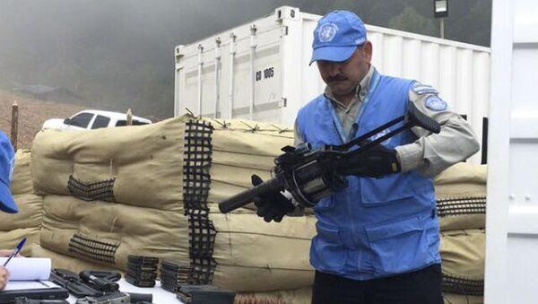 La Misión de la ONU en Colombia - Sputnik Mundo
