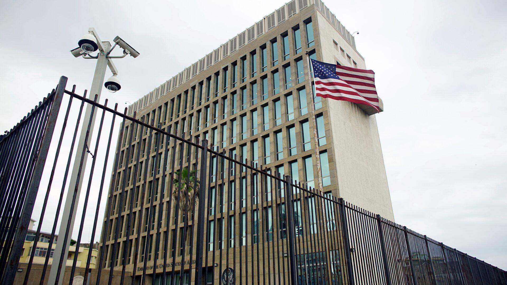 La embajada de EEUU en La Habana, Cuba - Sputnik Mundo, 1920, 15.09.2021