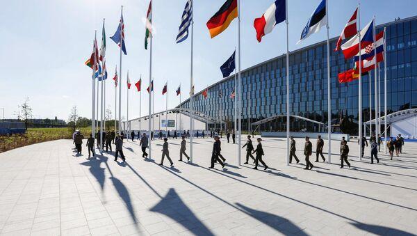Las oficinas centrales de la OTAN en Bruselas - Sputnik Mundo