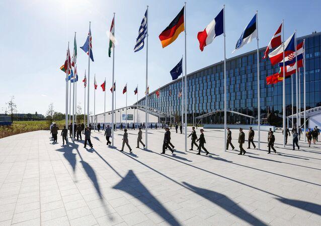 Las oficinas centrales de la OTAN en Bruselas