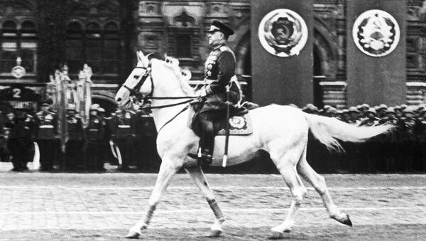 El mariscal soviético Gueorgi Zhúkov - Sputnik Mundo